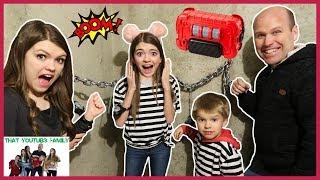 Maximum Security Prison Escape Room / That YouTub3 Family
