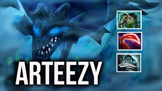 Arteezy 70 Armor Visage mid carry MMR Gameplay Dota 2 Highlights