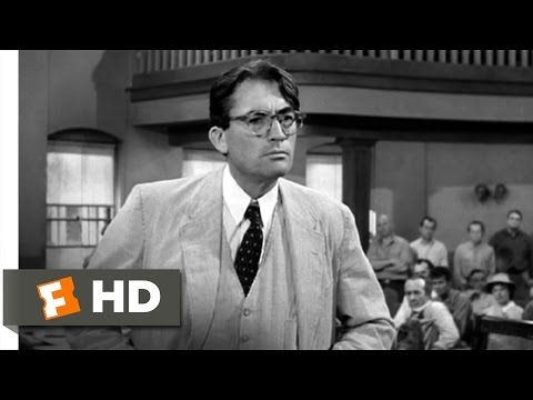 Atticusssssss - To Kill a Mockingbird Movie Clip - watch all clips http://j.mp/zaZY18 click to subscribe http://j.mp/sNDUs5 In his closing statements for the defense, Atticu...
