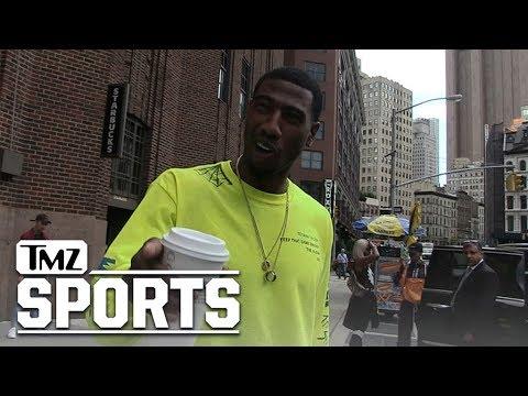 Iman Shumpert Tells Hilarious Carmelo Anthony Hazing Tale Involving Skittles   TMZ Sports