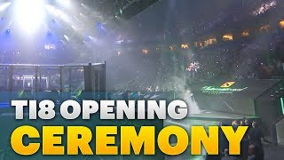 TI8 Open Ceremony