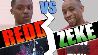 1 On 1 Basketball, Game  (Zeke Vs Redd)