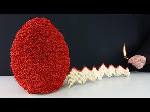 Match Chain Reaction Amazing Fire Domino - WORLD RECORD EGG - Thời lượng: 4 phút, 18 giây.