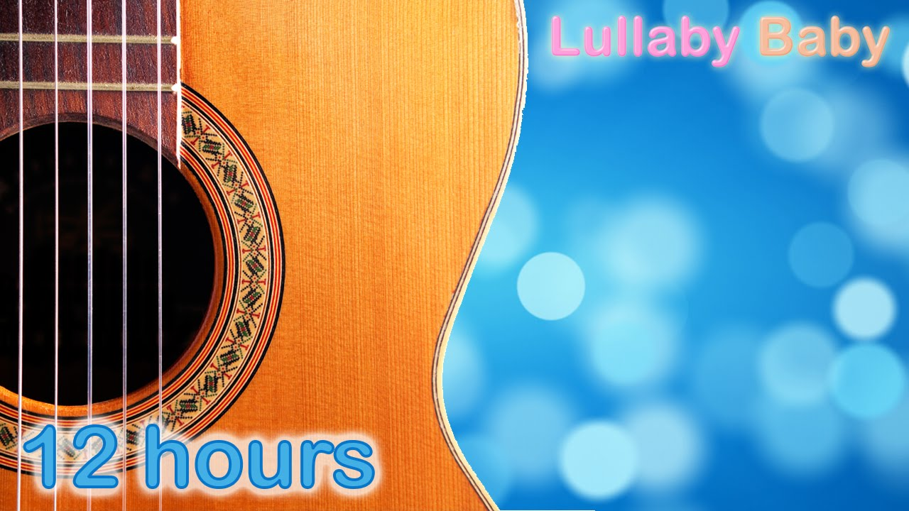 ✰ 12 HOURS ✰ Relaxing GUITAR Music & OCEAN Sounds ♫ Peaceful Acoustic Guitar Music ✰ Baby Sleep