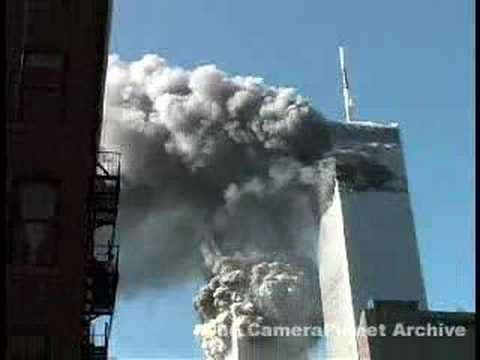 tower - This is a clip from the CameraPlanet 9/11 Archive. For information regarding full resolution clips of this material, or the archive - www.cameraplanet.com/ar...