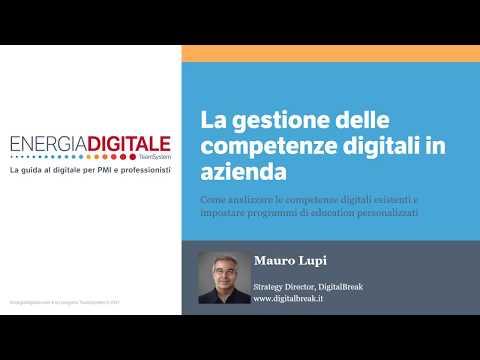 La gestione delle competenze digitali in azienda