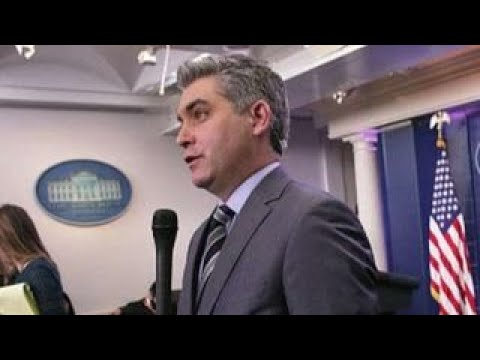 Tucker: CNN's Jim Acosta is a fraud 'hard news' journalist видео