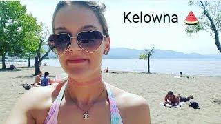 Kelowna (BC) Canada  city photos gallery : TRAVEL VLOG-Kelowna BC 2016 (Boyce-Gyro Beach & Rocky Mountians)