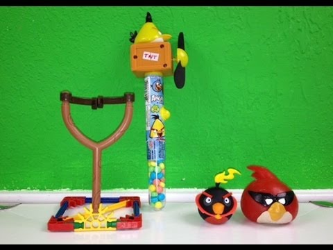 Angry Birds K'nex, SPACE Splat Target and Candy Fans!