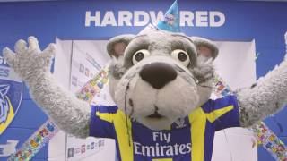 Wolfie turns 20 this weekend and the Wire are going to help him celebrate in style when Hull FC are the opposition. Saturday 1 April