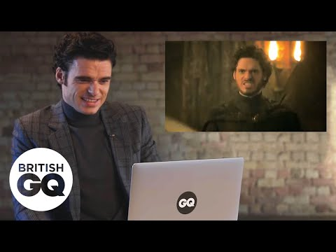 Richard Madden relives the Game of Thrones Red Wedding scene | GQ Action Replay | British GQ
