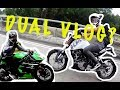 KTM Duke 200 vs Kawasaki Ninja 250 SL  | Dual Vlog 01|  Epi 01 | MOTOVLOGGER MALAYSIA