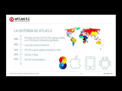 Taller Gratuito ATLAS.ti 8 Windows (16 de enero de 2018)