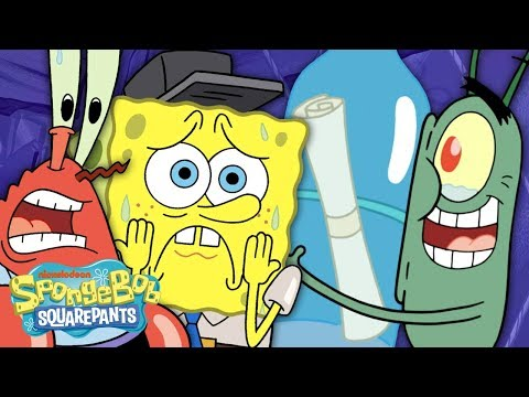 PLANKTON Timeline! ⏰ 20 Years of Trying to Steal the Krabby Patty Secret Formula | SpongeBob