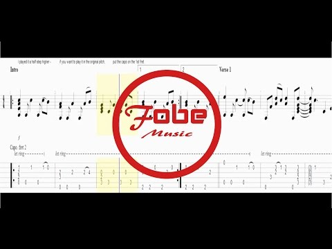 Bob Dylan - All Along The Watchtower  / Guitar Tab HD