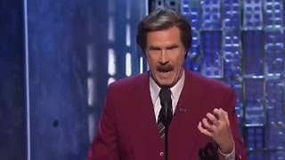 Ron Burgundy At Justin Bieber's Roast: 'He...