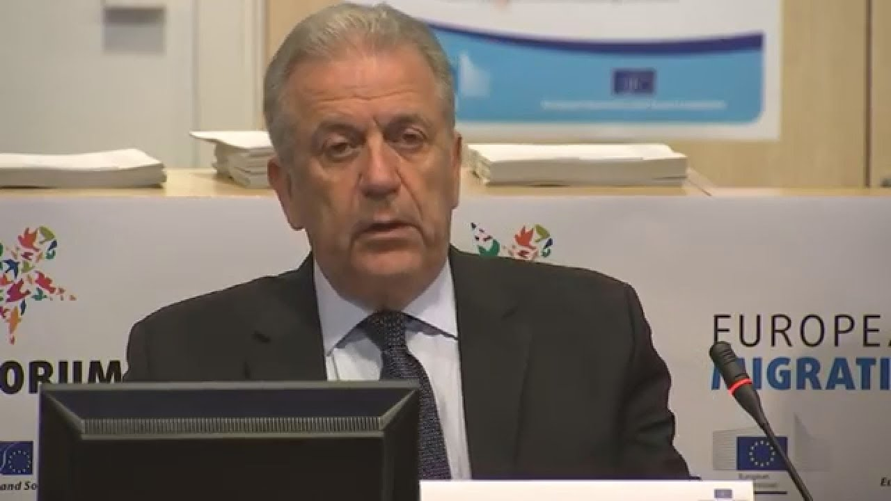 Εναρκτήρια ομιλία του Δ. Αβραμόπουλου στο 4ο Ευρωπαϊκό Φόρουμ για τη Μετανάστευση