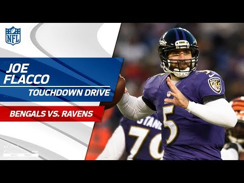 Video: Joe Flacco Guides Baltimore on TD Drive to Take the Late Lead! | Bengals vs. Ravens | NFL Wk 17