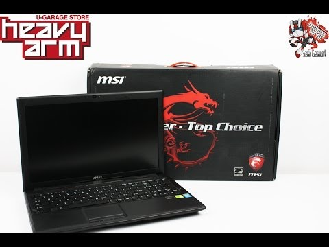 MSI GP 60 2OD and Test Play with Dota 2 , Street Fighter x Tekken and CS: GO