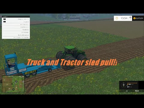 Farming simulator 2015 truck and tractor pull