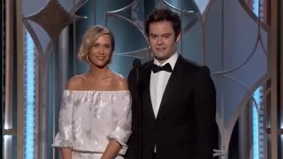Why Kristen Wiig and Bill Hader Should Replace Tina and Amy as Golden Globes Hosts