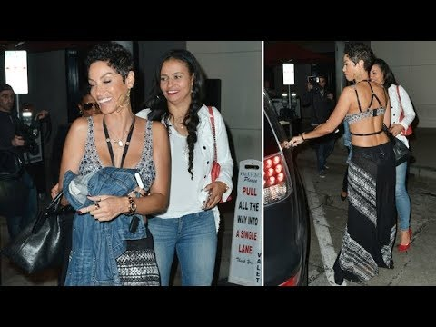 50-Year-Old Nicole Murphy Defies Her Age During Dinner Outing With Friends