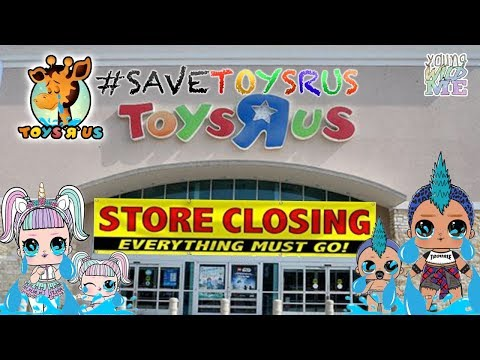 Save Toys R Us Toy Store From Closing!😢LOL Surprise Confetti Pop Wave 2 Final Toy Hunt? PLEASE SHARE