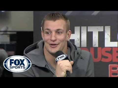 Gronk Gets Down On Fox Sports One, Grinds On Female Anchor
