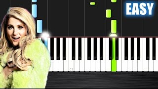 Meghan Trainor - Like I'm Gonna Lose You ft. John Legend - EASY Piano Tutorial  Ноты и М�Д� (MIDI) м