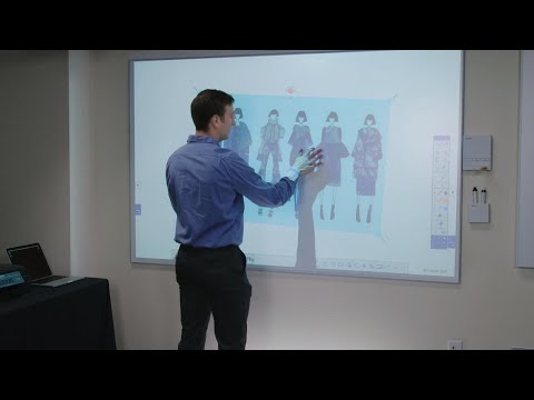See BrightLink Pro Interactive Displays in Action - Featuring the 1450ui and 1460ui models