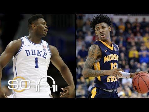 Where will Zion Williamson, Ja Morant go in 2019 NBA Draft?   SC with SVP