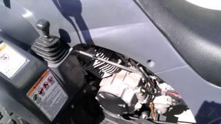 9. 2008 Yamaha wolverine 350