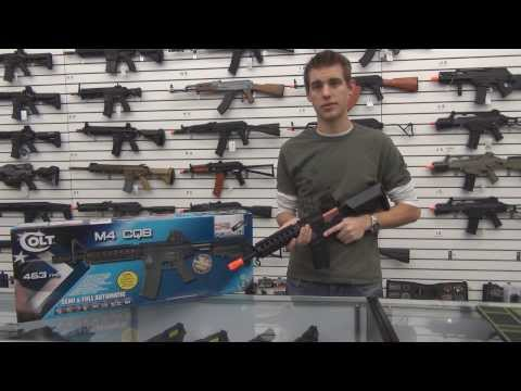Colt M4 Cqb Full Metal Aeg Airsoft Gun Overview 18975