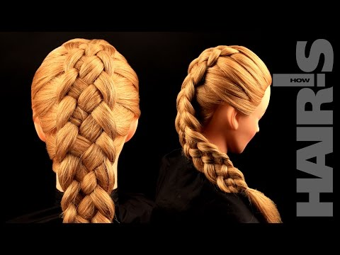 How to do a five-strand French braid hairstyle