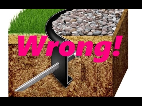 The Truth about Landscape Edging (видео)
