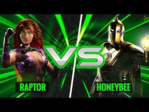When The Two Best Zoners Collide - Raptor (Starfire) vs HoneyBee (Doctor Fate)