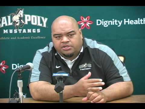 Cal Poly Football Coordinators Saga Tuitele and Josh Brown