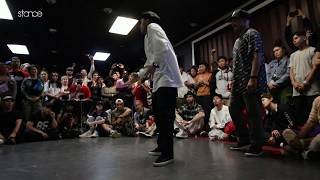 J Smooth & Inox vs  Precise & Breeze Lee – FREESTYLE SESSION 2018 POPPING TOP8