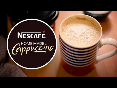 (Home Made Cappuccino | Coffee | Yummy Nepali Kitchen - Duration: 116 seconds.)
