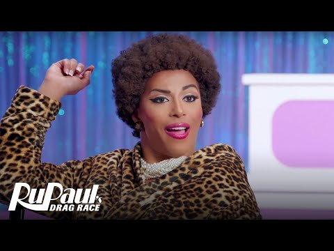 Jenifer Lewis aka Shangela Wants You to Bow Down & Respect | RuPaul's Drag Race All Stars 3
