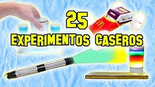 Los Mejores 25 Experimentos de Ciencia, Caseros y Fáciles - Experimentos Caseros - LlegaExperimentos