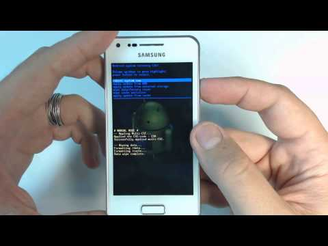 , title : 'Samsung Galaxy S Advance I9070 - How to remove pattern lock by hard reset'