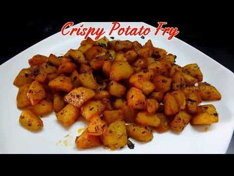 Crispy Potato Fry Aloo Fry Bangaladumpa Vepudu