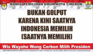 KPU KOTA CIREBON ~ 02 SAATNYA INDONESIA MEMILIH
