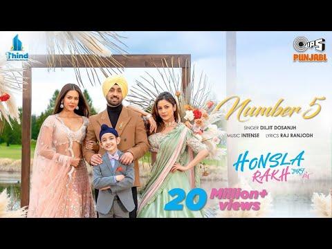 Chanel No 5 | Honsla Rakh | Diljit Dosanjh | Sonam Bajwa, Shehnaaz Gill, Shinda G | Tips Punjabi