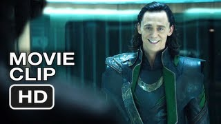 The Avengers - It's An Impressive Cage (Movie Clip)