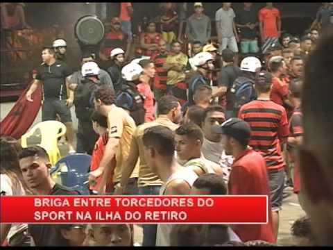 [RONDA GERAL] Briga entre torcedores do Sport na Ilha do Retiro