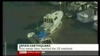 Japan 2011 Earthquake 4 - Tsunami&Footage - BBC News America 11.03.2011
