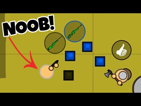 GIVING NOOB HIS FIRST WIN IN SURVIV.IO!!!