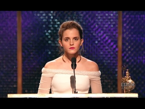 Awards - Emma Watson (Harry Potter, The Perks of Being a Wallflower, Noah) accepts the Britannia Award for British Artist of the Year presented by Burberry. Emma Watson tells the story of how her on-set...